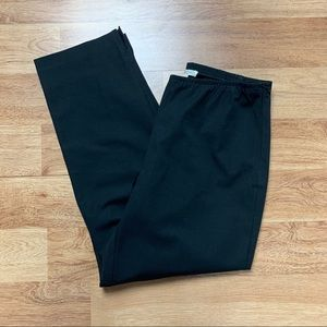 Eileen Fisher Black Organic Dress Pants